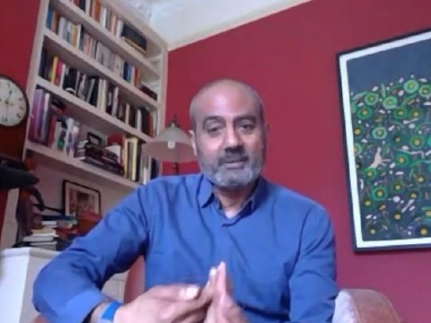 BBC News presenter George Alagiah back at work after recovering from coronavirus