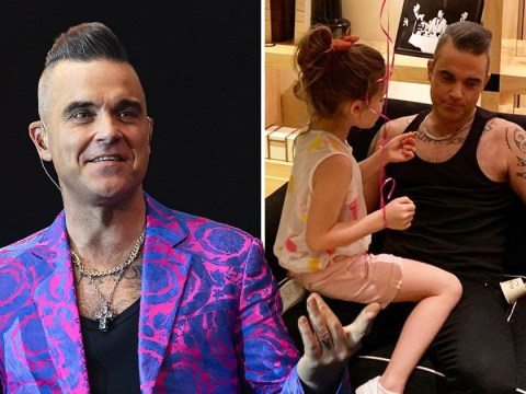 Robbie Williams stopped having paranormal encounters after having kids