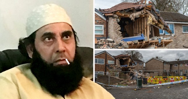 Man who died in house explosion yesterday Munir Hussain