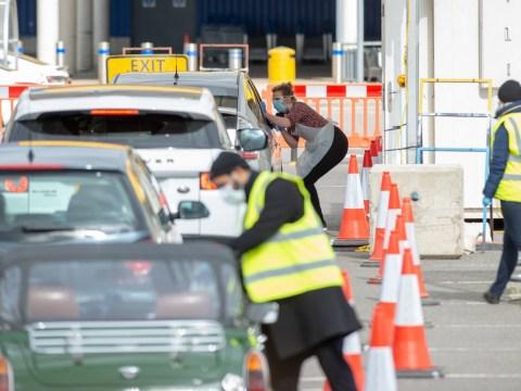 NHS staff turned away at coronavirus testing drive-throughs