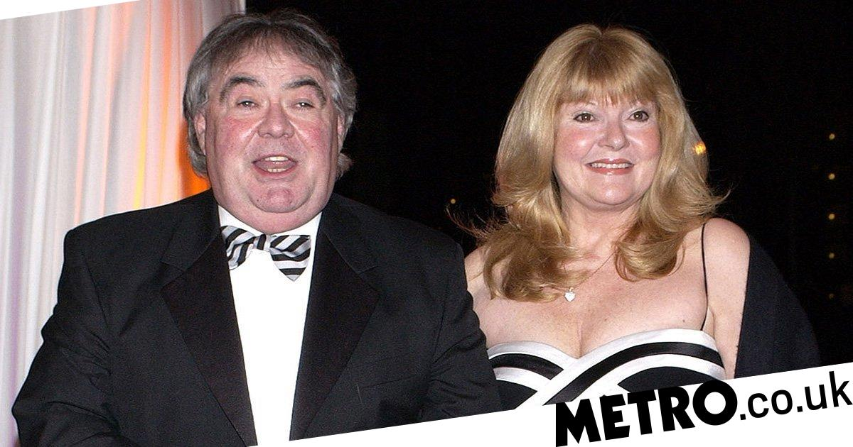 Eddie Large's wife was banned from being with him as he died of coronavirus