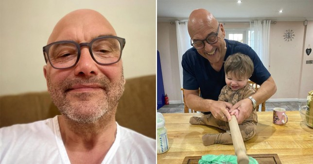 Gregg Wallace's son helps him in the kitchen