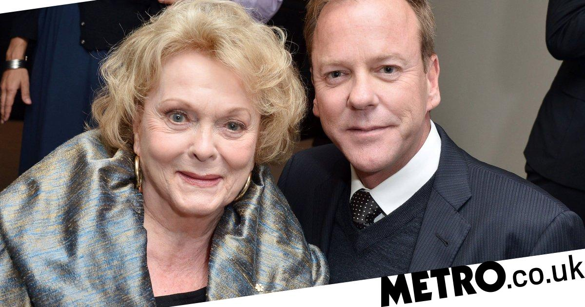 Shirley Douglas, actress and Kiefer Sutherland's mother, dies aged 86