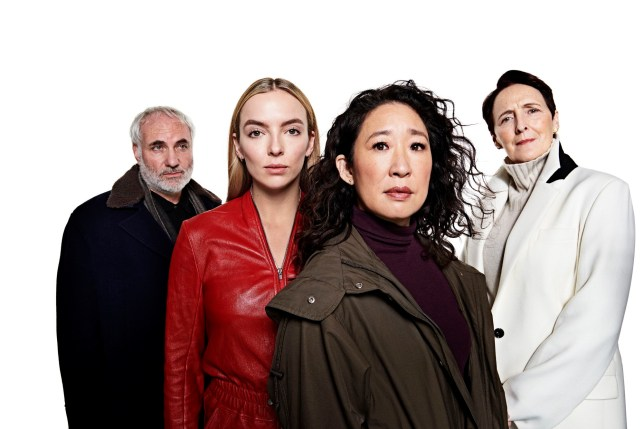 Killing Eve cast shot