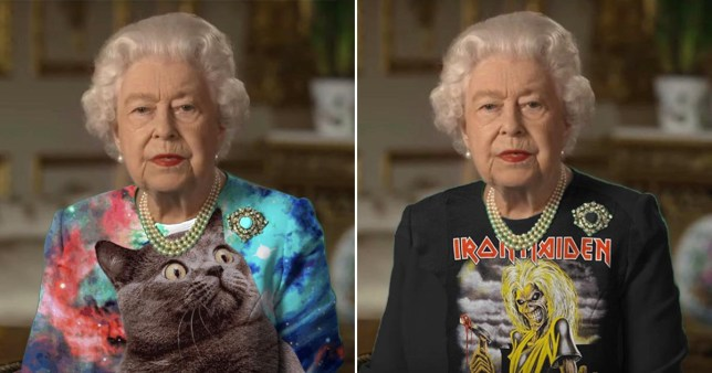 Reddit has fun with the queen's outfit
