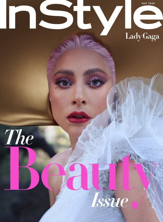 InStyle :: May Covers Lady Gaga Star