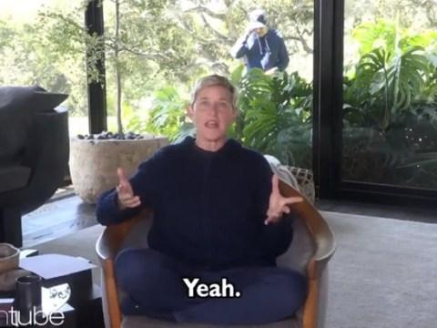 Ellen DeGeneres ignores quarantine backlash as she ploughs on after she comparing self-isolation to jail