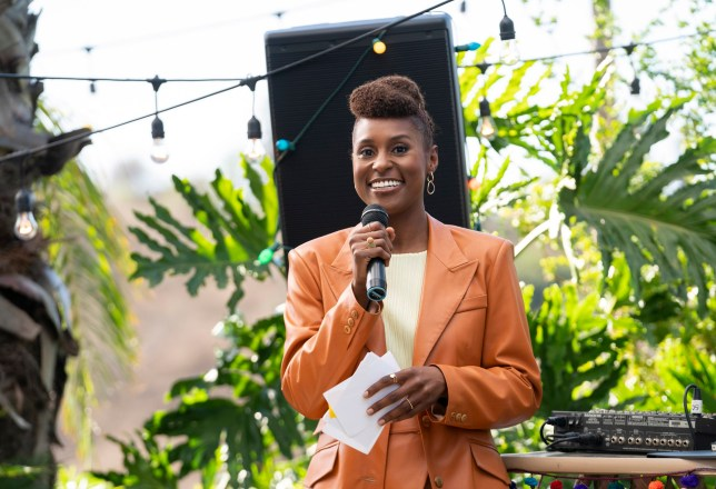 Issa Rae in a scene from the fourth season premiere episode of 'Insecure'