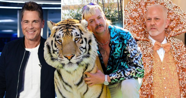Tiger King Rob Lowe In Talks For Joe Exotic Project With Ryan
