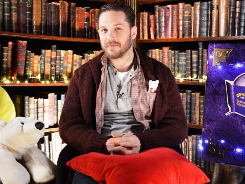 When will Tom Hardy appear on CBeebies?