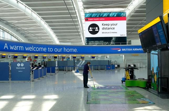 Heathrow Sees Further Drop In Passenger Travel Amid Coronavirus Restrictions