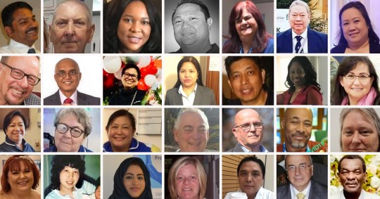 The 27 NHS workers who have sacrificed their lives in the fight against coronavirus