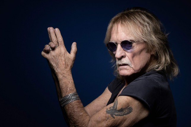 (FILES) In this file photo taken on December 11, 2019 French singer Christophe poses during a photo session in Paris. - Christophe died on April 16, 2020, aged 74. (Photo by JOEL SAGET / AFP) (Photo by JOEL SAGET/AFP via Getty Images)