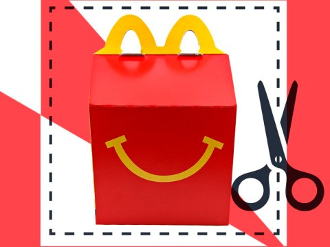McDonald's gives away Happy Meal box template so you can print and make your own at home