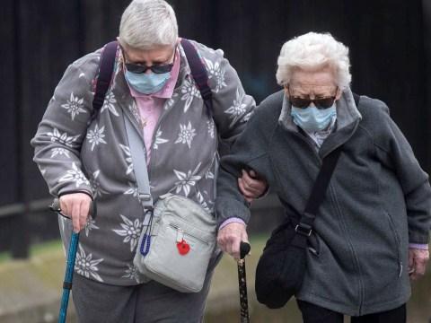 Over 70s facing a year indoors under coronavirus lockdown