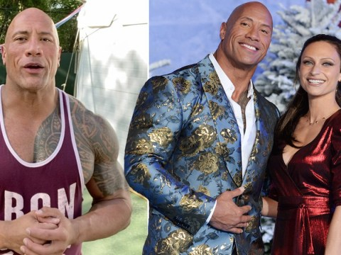 Dwayne Johnson says being 'caring and empathetic' is how he gets through lockdown with wife