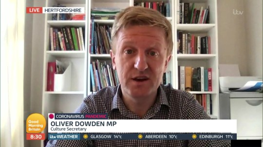 MP Oliver Dowden speaks about lack of PPE in NHS