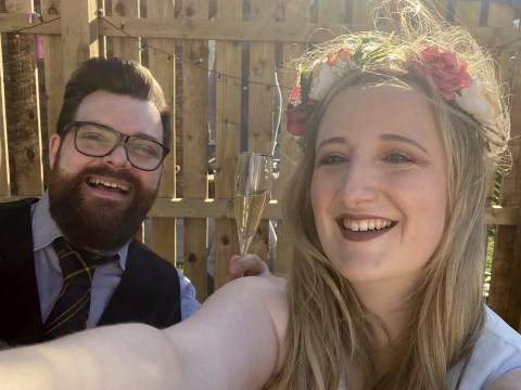 Couple live stream mock wedding ceremony on Facebook after coronavirus ruins their plans