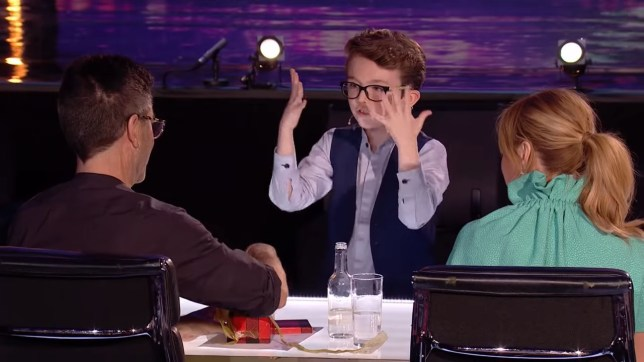 Exclusive - BGT magician reveals they cut magic trick with David Walliams Aidan McCann