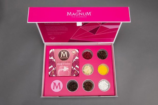 METROGRAB Magnum is sending out free DIY ice cream kits to cool down our warm weekends indoors