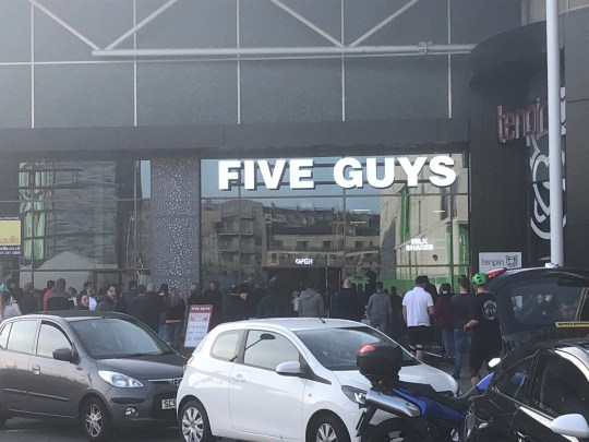 Huge Crowds Outside Five Guys After It Reopens For Takeaways Only Metro News