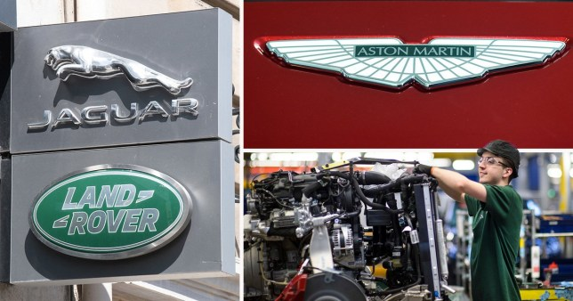 Car engineers to go back to work next month as Jaguar and Aston Martin re-open factories