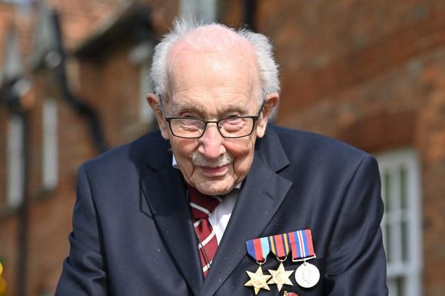 British World War II veteran Tom Moore