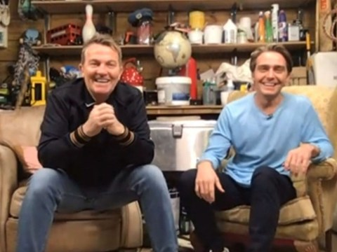 Bradley Walsh and son Barney film brand new show from home during coronavirus lockdown