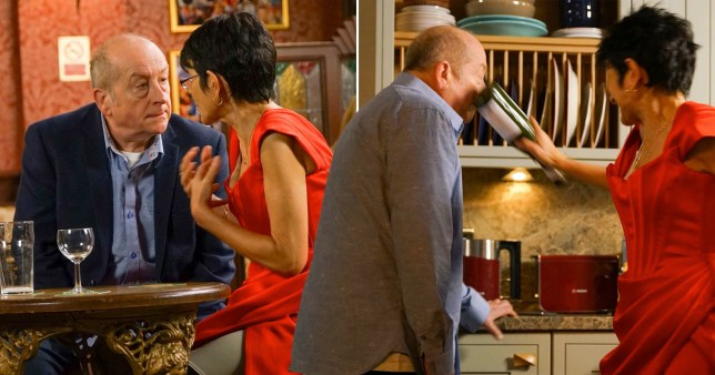 Corrie viewers outraged after Geoff tries to convince Yasmeen getting an STI was her fault