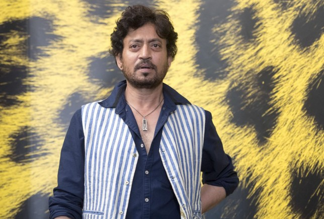 Mandatory Credit: Photo by Urs Flueeler/EPA/REX/Shutterstock (8988814o) Irrfan Khan The Song of Scorpions - Photocall - 70th Locarno Film Festival, Switzerland - 09 Aug 2017 Indian actor Irrfan Khan from Tanzania poses during the photocall for the film 'The song of Scorpions' at the 70th Locarno International Film Festival, in Locarno, Switzerland, 09 August 2017. The event runs from 02 to 12 August.