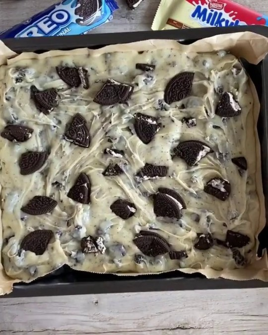 Three ingredient oreo fudge recipe