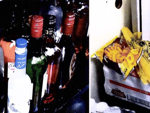 Inside the 'dirty illegal drinking den' set up in off-licence