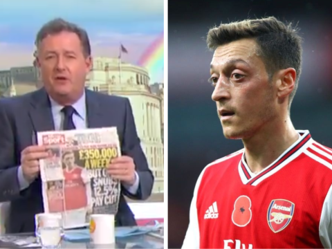 Piers Morgan 'sickened' by Mesut Ozil refusing to take a pay cut and slams Arsenal star