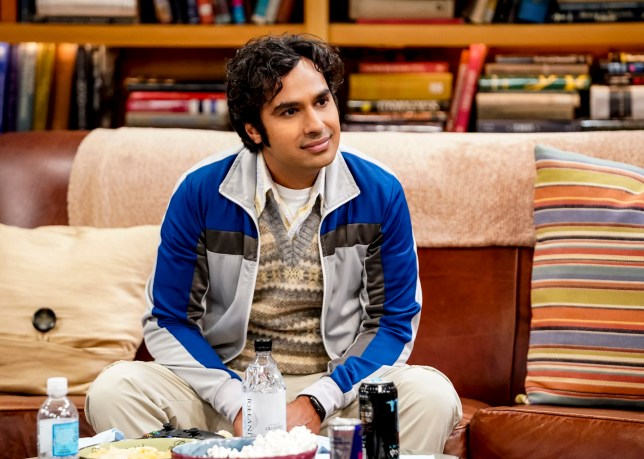 The Big Bang Theory's Raj