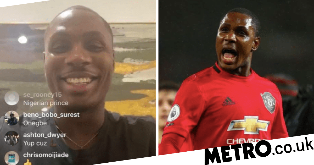 Odion Ighalo thanks three Manchester United 'brothers' for helping him settle in