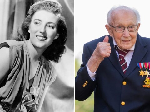 Captain Tom Moore apologises to Vera Lynn for beating her to number one single as he teases secret letter from singer