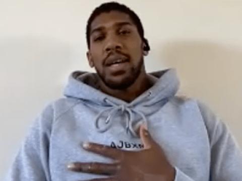 Anthony Joshua breaks silence on step-aside offer for Deontay Wilder