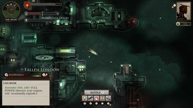 Sunless Sea: Zubmariner Edition screenshot