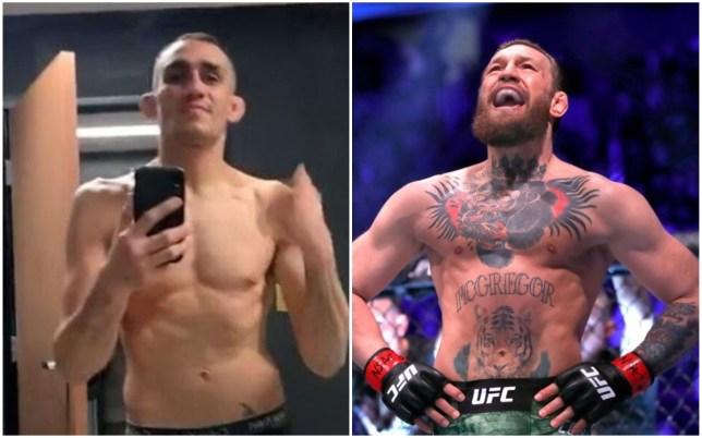 Conor McGregor has mocked his UFC rival Tony Ferguson