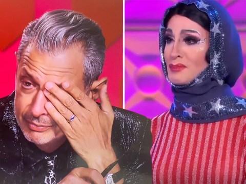 Jeff Goldblum left in tears over RuPaul's Drag Race star's speech about LGBTQ and Islam