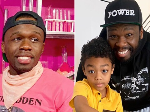 50 Cent shares sweet Easter moment with his youngest after disowning his eldest son