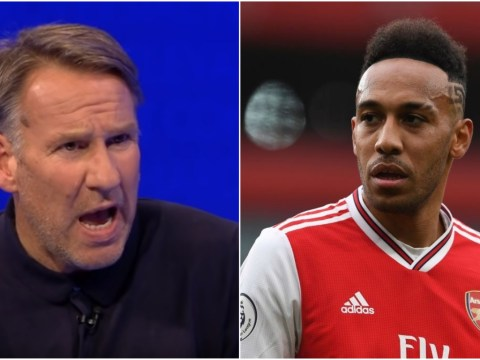 Paul Merson tells Pierre-Emerick Aubameyang to snub summer transfer and stay at Arsenal