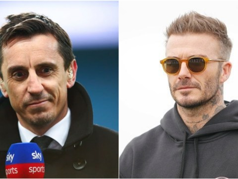 Gary Neville reveals why he disliked rooming with fellow Manchester United legend David Beckham