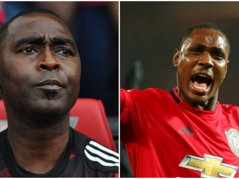 Andy Cole delivers verdict on Manchester United loan signing Odion Ighalo