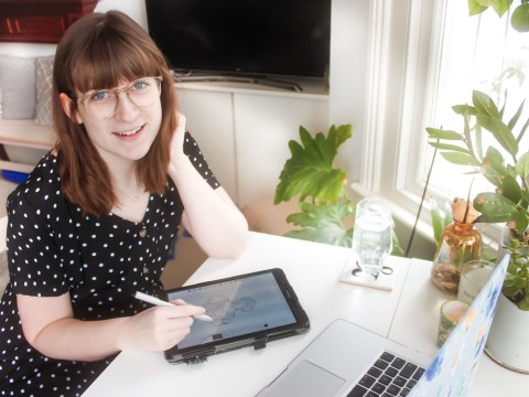 Where I Work: Corah, the graphic designer and illustrator working from home in West London
