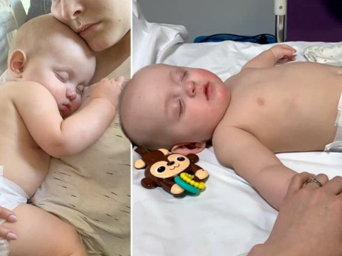 Baby in hospital with coronavirus after falling 'unconscious and floppy'