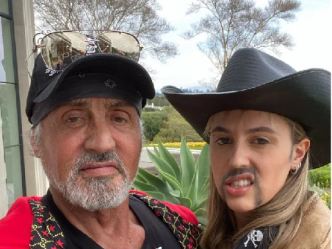 Sylvester Stallone dresses as Tiger King's Jeff Lowe and it's so accurate it's unsettling