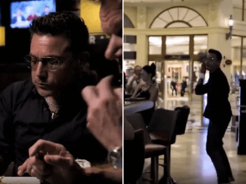 Gino D'Acampo legs it without paying for $777 burger and it baffles viewers