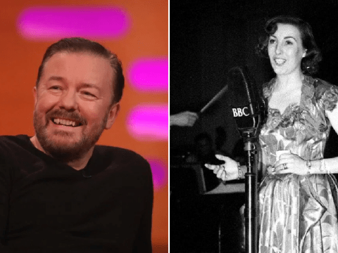 Ricky Gervais 'is not going to be the Vera Lynn' but wants to be more positive amid coronavirus