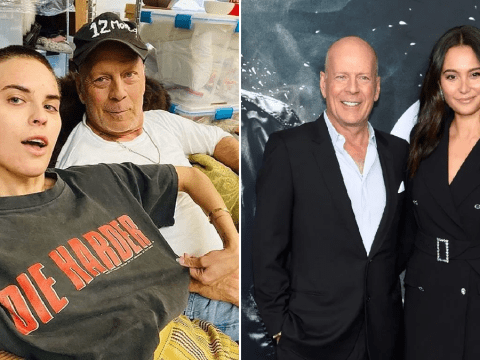 Bruce Willis bonds with daughter Tallulah in quarantine as wife chimes in from afar